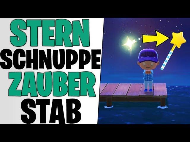 DER GEHEIME ZAUBERSTAB - Sternschnuppen Secret Rezept | Animal Crossing New Horizons Tipps deutsch