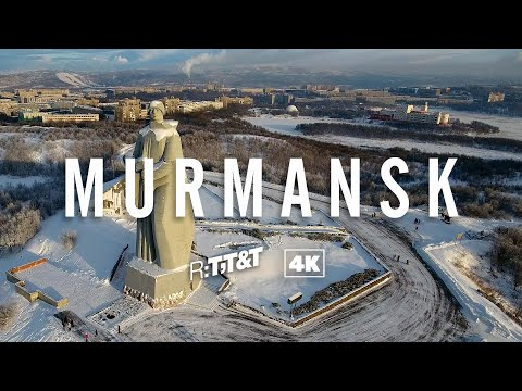 RTTT Murmansk 4K video footage | Trip to Russia