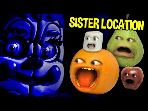 Annoying Orange - FIVE NIGHTS AT FREDDY'S: Sister Location TRAILER Trashed!!