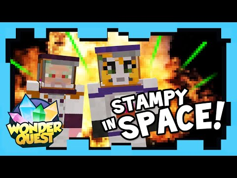 Wonder Quest - Episode 4 - STAMPY'S MINECRAFT SHOW | Stampylonghead (Stampy Cat) CaptainSparklez
