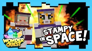 Wonder Quest -  Episode 4 - STAMPY'S MINECRAFT SHOW | Stampylonghead (Stampy Cat), CaptainSparklez