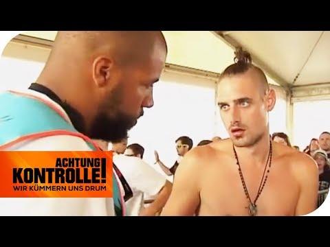Drogen & Alkoholschmuggel: Festivalbesucher fliegt raus!   Achtung Kontrolle   kabel eins