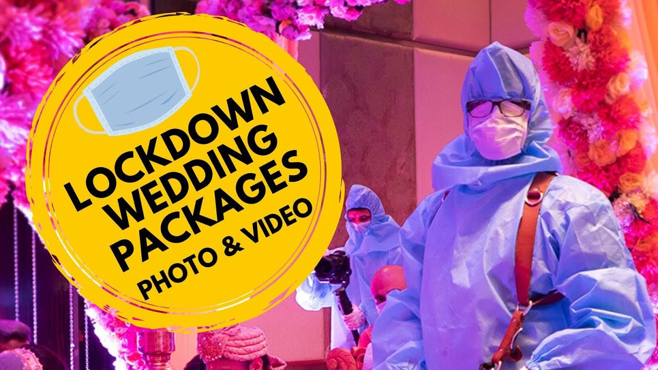Lockdown Wedding Video and Photo Packages // Cheapest Offer ever!