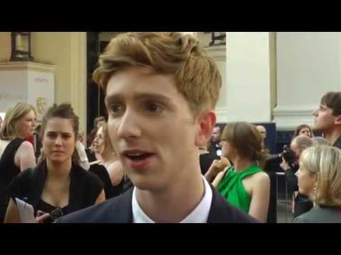 BAFTA TV Awards 2014 Red Carpet    Luke Newberry In the Flesh