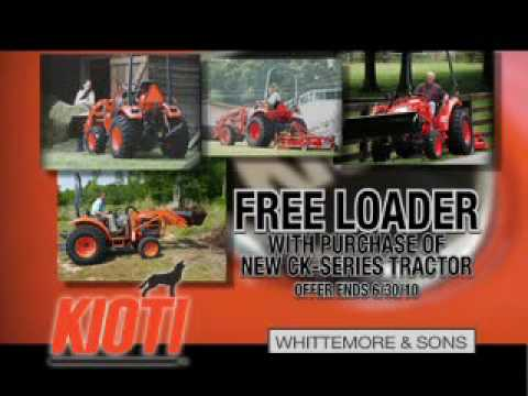 Whittemore & Sons - Kioti CK Tractor Special