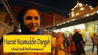 Hazrat Nizamuddin Dargah & Sufi Performance