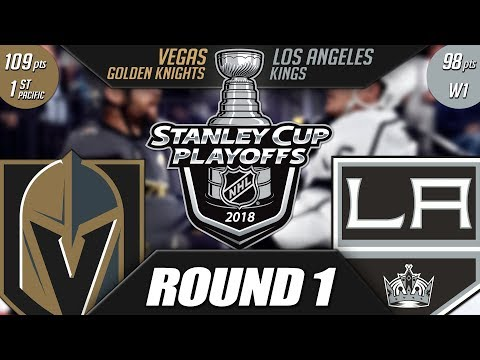 Vegas Golden Knights vs LA Kings - Round 1 Playoff Preview