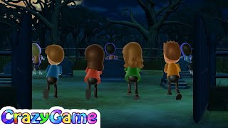 Wii Party - All 4 Player Minigames Gameplay