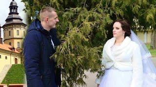 Свадебный клип обзорный Несвиж, Олег и Ксения