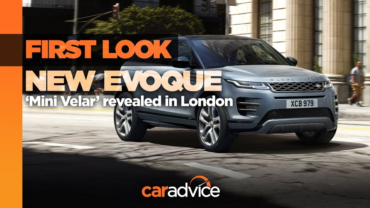 2019 Range Rover Evoque First Look Youtube