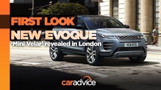 2019 Range Rover Evoque: FIRST LOOK