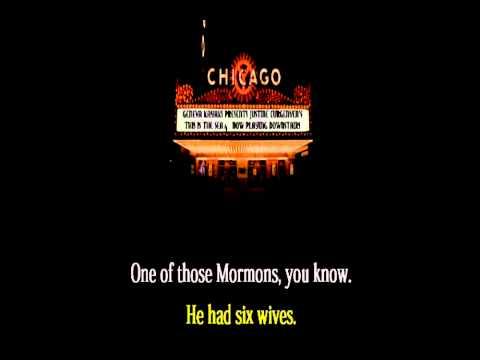 CHICAGO THE MUSICAL - CELL BLOCK TANGO (LYRICS) HQ