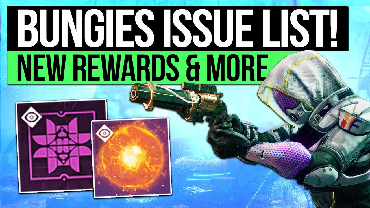 Destiny 2 News | Bungie's Feedback List, Eververse Acknowledged, New Infusion Item & Rumble Return?