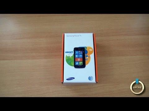 Samsung Focus S Unboxing - BWONe.com