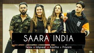 SAARA INDIA Tejas & Ishpreet Ft Aastha Gill & Priyank Sharma Dancefit Live