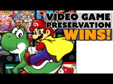 Video Game Preservation WINS!