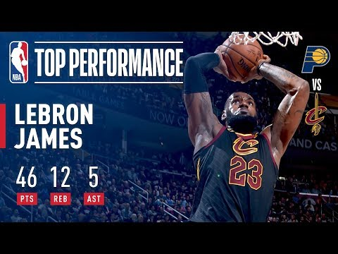 LeBron James' Impressive Performance In Game 2 Victory | 46 Points, 13 Assists, 12 Rebounds