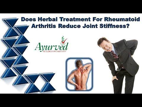 Does Herbal Treatment for Rheumatoid Arthritis Reduce Joint Stiffness
