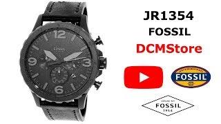 JR1354 Fossil Nate Chronograph Black Militar ..... DCMStore