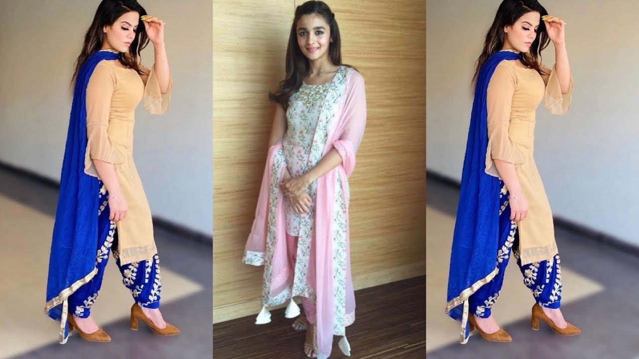 Latest matching salwar suit designs 2020/ ,for all season #matchingsuit#salwarsuits#harmanfashion