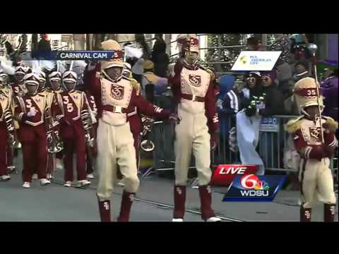 Watch: McDonogh 35 Marching Band at Zulu 2016