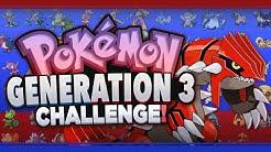 Generation 3 Pokemon Challenge (Quiz in Description)