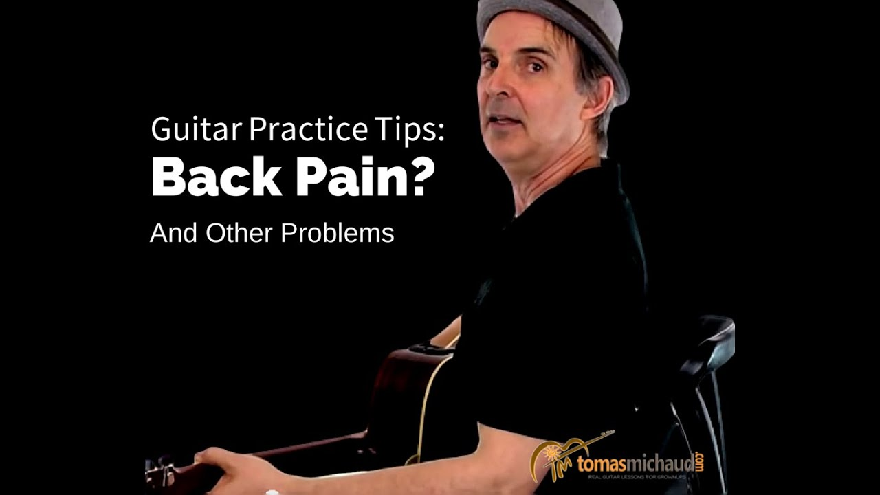 Avoid Back Pain From Guitar Tips To Avoid Back Problems