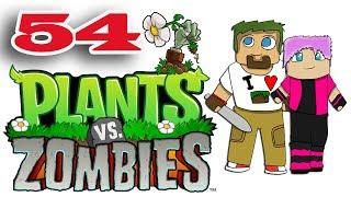 ч.54 Растения против Зомби с кошкой - Выживание: Бесконечно (v2)