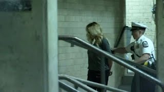 RAW: Porn actress St๐rmy Daniels being led into Franklin Co. jail