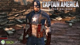 Captain America: Super Soldier - Xbox 360 / Ps3 Gameplay (2011)