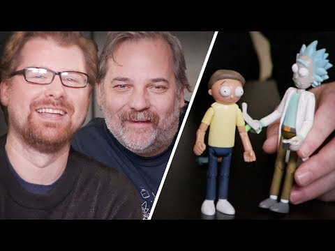 New Rick and Morty Scene with Live Commentary by Dan Harmon and Justin Roiland // Omaze