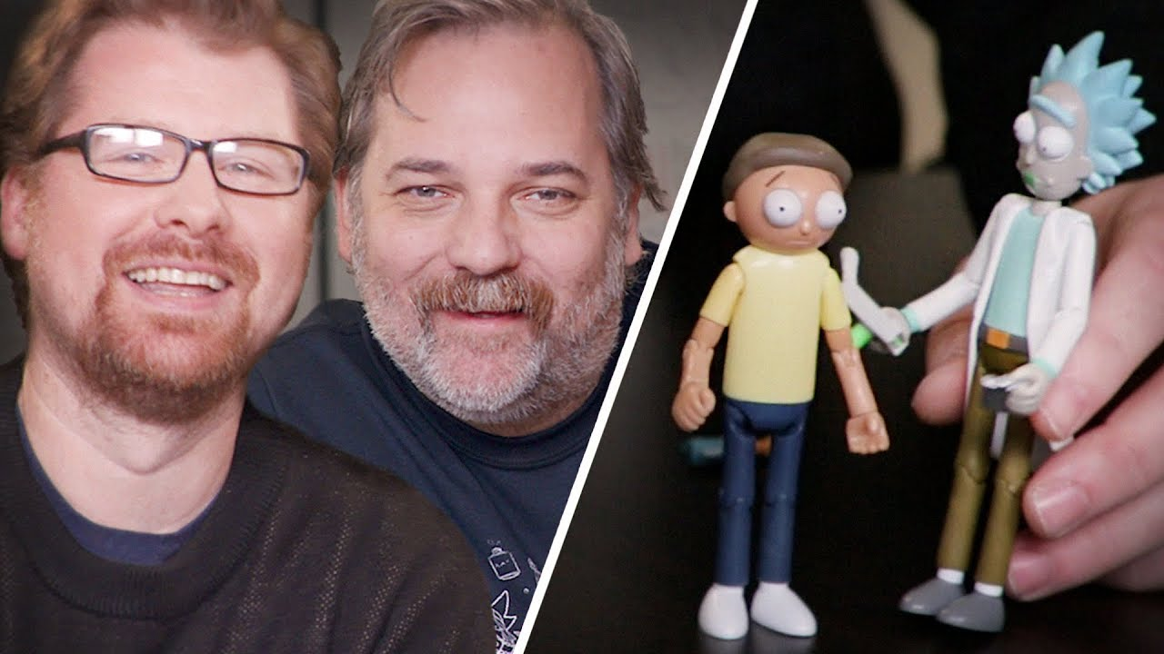 New Rick and Morty Scene with Live Commentary by Dan Harmon and Justin  Roiland // Omaze - YouTube