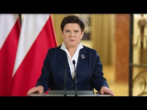 Speech by Prime Minister Beata Szydło [english subtitles]