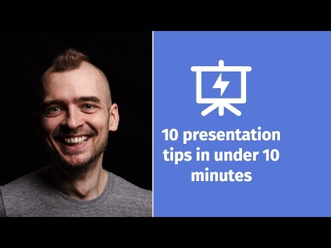10 Presentation Tips in under 10 Minutes - Presentation Hero