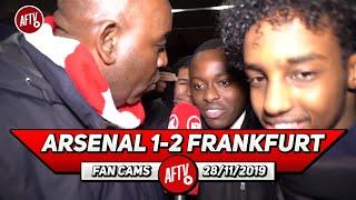 Arsenal 1-2 Frankfurt | Bring In Allegri! Emery Has To Go!!