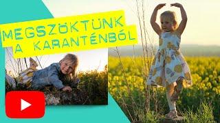 Megszöktünk a Karanténból / Fotózás a repce mezőn kislányommal / byKeresztes