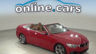 C12987TA Used 2016 BMW 4 Series 428i RWD 2D Convertible Red Test Drive, Review, For Sale