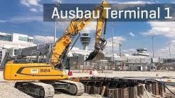 Ausbau Terminal 1: Rückbau westliches Vorfeld | Flughafen München