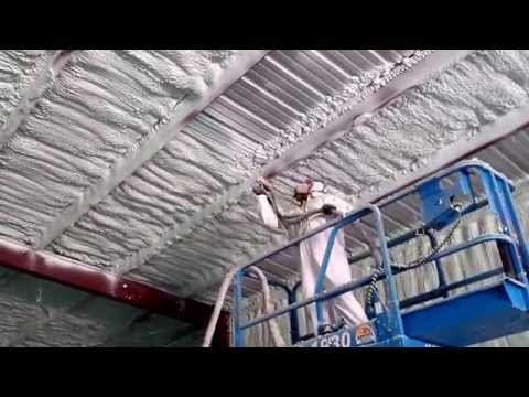 Spray Foam Equipment Rental - Houston Texas Project