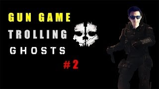 Cod Ghosts Gun Game Trolling #2 Kitty Cat Queer and Aids