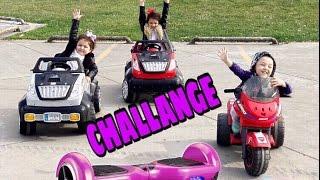 HOVERBOARD !!!Oyuncak Avı İle Çılgınca Yarış Yaptık