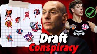 2020 NBA Draft Lottery Conspiracy