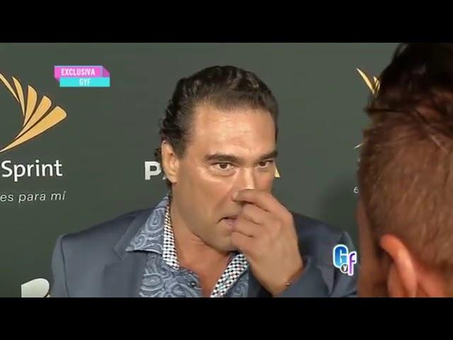 Actor Eduardo Yáñez le pegó una cachetada a reportero Paco Fuentes de Univisión