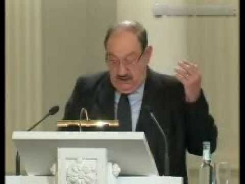 "Umberto Eco - ""On the Ontology of Fictional Characters: a Semiotic Study"" (1-2)"