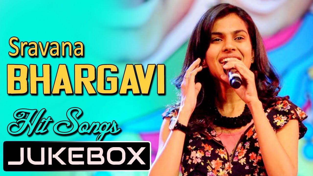 sravana bhargavi singer time hits telugu songs jukebox birthday special youtube