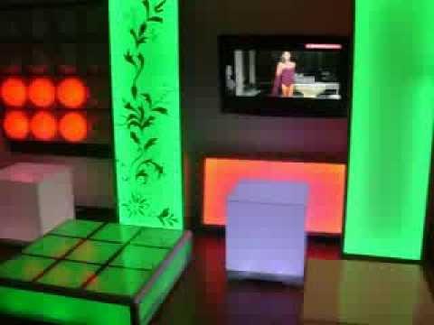 Decoracion discotecas youtube for Decoracion de paredes modernas