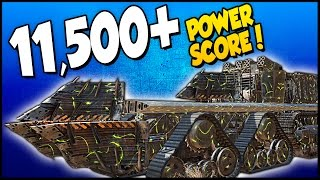 Crossout ➤ 11,500+ Power Score Monster! Leviathan vs Leviathan... Sort Of. [Crossout Gameplay]