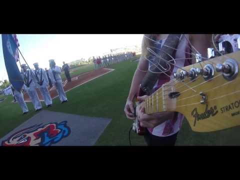 Lane Pittman Jumbo Shrimp Opening Day Anthem