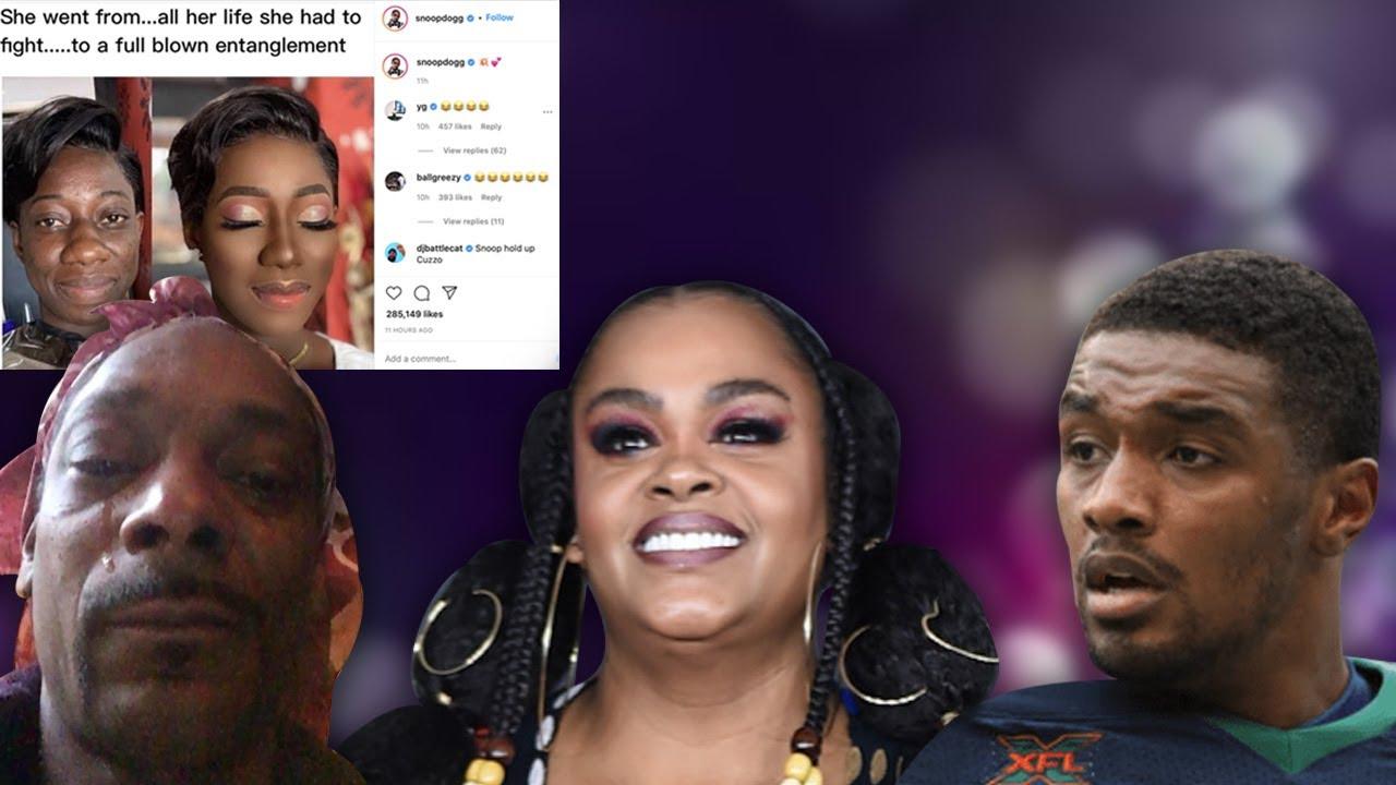 Snoop Dogg Calls BWs Makeup Transformation an Entanglement Jill Scott Looks Questioned by NFL Dusty