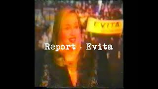 USA Television News Report & Interview with Madonna For Evita